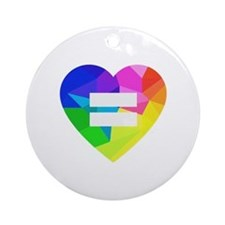 Love Wins Ornament (Round)