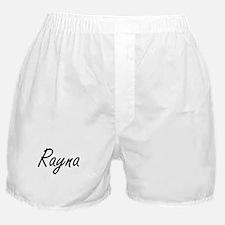 Rayna artistic Name Design Boxer Shorts