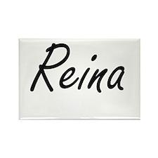 Reina artistic Name Design Magnets