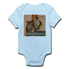 egyptian mau sitting 2 Body Suit
