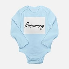 Rosemary artistic Name Design Body Suit