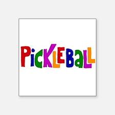 Pickleball Letters Art Sticker
