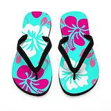 Aloha hibiscus Flip Flops