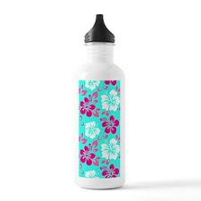 Cyan-magenta-white Haw Water Bottle