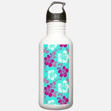 Cyan-magenta-white Haw Water Bottle