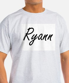 Ryann artistic Name Design T-Shirt