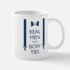 Real Men Wear Bow Ties Mugs