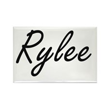 Rylee artistic Name Design Magnets