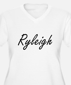 Ryleigh artistic Name Design Plus Size T-Shirt