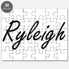 Ryleigh artistic Name Design Puzzle