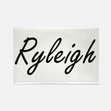 Ryleigh artistic Name Design Magnets