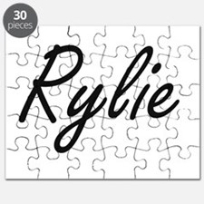 Rylie artistic Name Design Puzzle