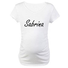 Sabrina artistic Name Design Shirt