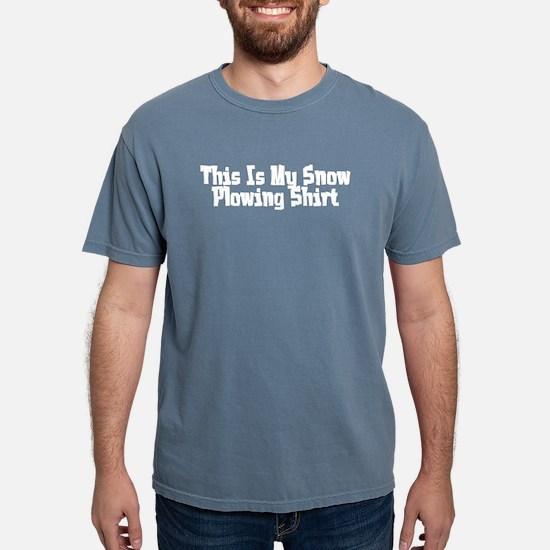 Thisismysnowplowingshirt2trans T-Shirt