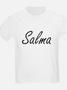 Salma artistic Name Design T-Shirt