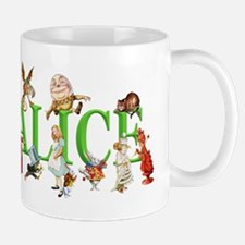 Alice and Friends in Wonderland, includ Mug