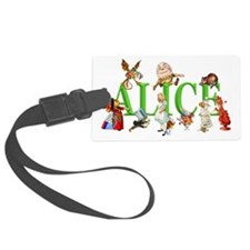 Alice and Friends in Wonderland, Luggage Tag