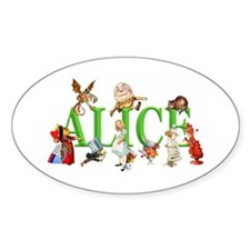 Alice and Friends in Wonderland, in Decal