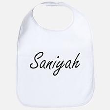 Saniyah artistic Name Design Bib