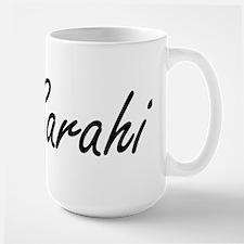 Sarahi artistic Name Design Mugs
