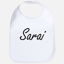 Sarai artistic Name Design Bib