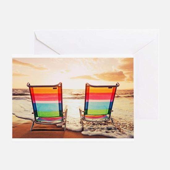 Seychelles Beach Photocard Greeting Cards