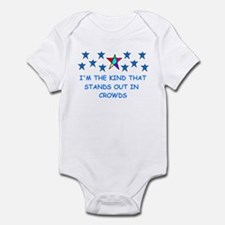 STANDS OUT IN CROWDS Infant Bodysuit