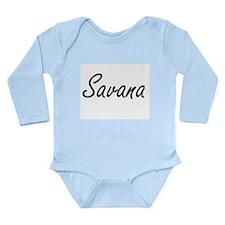 Savana artistic Name Design Body Suit