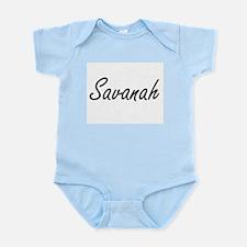 Savanah artistic Name Design Body Suit