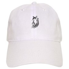 Black Horse Baseball Baseball Cap