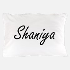 Shaniya artistic Name Design Pillow Case