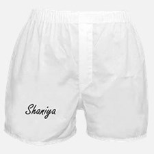 Shaniya artistic Name Design Boxer Shorts