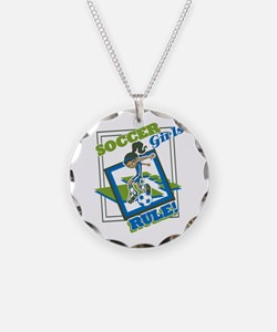 Soccer Girls Rules Necklace