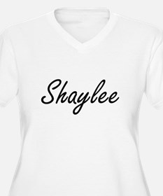 Shaylee artistic Name Design Plus Size T-Shirt