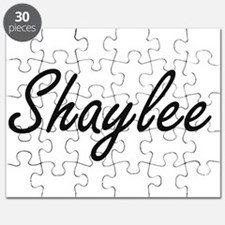 Shaylee artistic Name Design Puzzle
