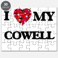 I Love MY Cowell Puzzle