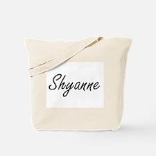 Shyanne artistic Name Design Tote Bag