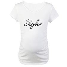 Skyler artistic Name Design Shirt