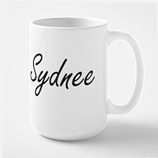 Sydnee artistic Name Design Mugs