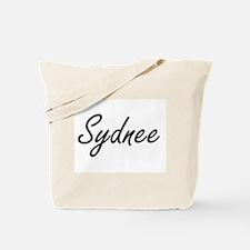 Sydnee artistic Name Design Tote Bag