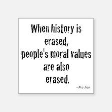 Morals Sticker