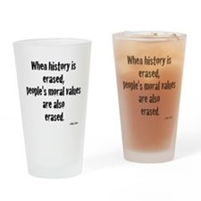 Morals Drinking Glass
