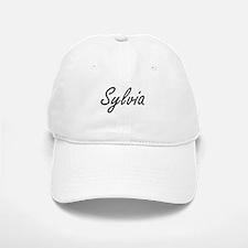 Sylvia artistic Name Design Baseball Baseball Cap