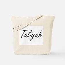 Taliyah artistic Name Design Tote Bag