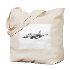 F-16 Pencil Prints by RKSmith Tote Bag