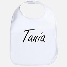 Tania artistic Name Design Bib