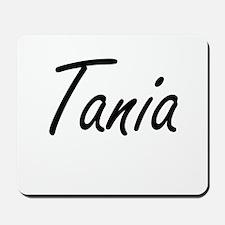 Tania artistic Name Design Mousepad