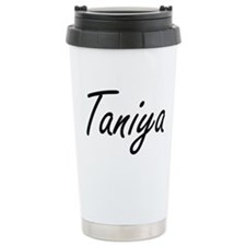 Taniya artistic Name De Travel Coffee Mug