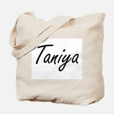 Taniya artistic Name Design Tote Bag