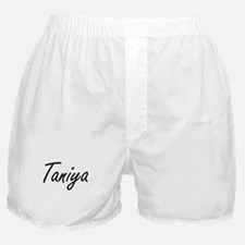 Taniya artistic Name Design Boxer Shorts